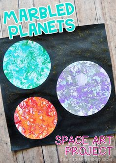 Space Crafts Preschool, Space Activities, Painting Activities, Planets Preschool, Craft Space, Painting Crafts Kids, Outer Space Crafts For Kids, Preschool Plans, Summer Activities