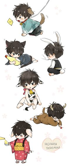 Hijikata Toshirou  Anime-Manga: Gintama  Artist: http://www.pixiv.net/member.php?id=3452620
