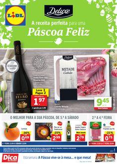 Folheto Lidl Portugal Promoções Semana a partir 13 Abril. Deluxe a receita perfeita para uma Páscoa feliz. #Lidl #páscoa