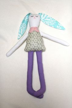 Tutorial: Bunny Rag Doll with Free Pattern