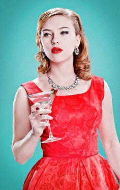 Scarlett Johansson by Matt Hoyle