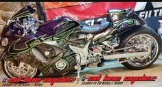 Custom Hayabusa, Custom Sport Bikes, Suzuki Motorcycle, Sportbikes, Cyberpunk Art, Michael Miller, Street Bikes, Ducati, Helmets