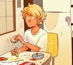 Human bill, who looks like Will Solace. OMG! His really look like Will Solace! This artist is great