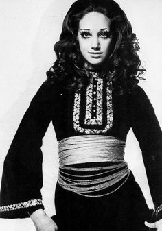 1960s  fashion  marisa berenson