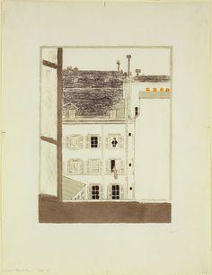 House in a Courtyard (Maison dans la cour)  Pierre Bonnard