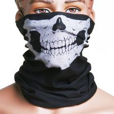 Skull Multi Use Head Wear Hat Scarf Face Mask Motorcycle Cap facial masks, avacado mask face, mask halloween Diy Mask, Diy Face Mask, Avacado Mask, Diy Beauty Mask, Beautiful Mask, Facial Masks, Halloween Face Makeup, Skull, Cap