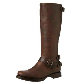 Frye Veronica Back Zip Maple -Womens