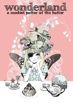 alice in wonderland. but this looks like Alyssa from Splintered to me because she has wings.
