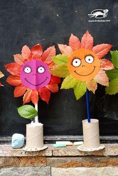 fall flower craft