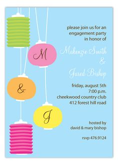 Outdoor wedding shower