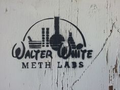 Photo of the Day: Walter White Meth Labs Breaking Bad, Walter White, Graffiti, Jesse Pinkman, Twisted Disney, Valley Of The Dolls, Heisenberg, Picture Day, Monsters
