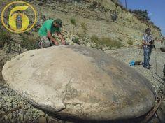 Unique 4-meter drive UFO ufologists found near Volgograd