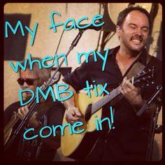 DMB Dave Matthews Band Summer tour