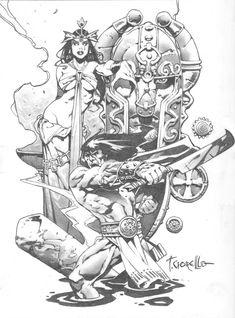 Tomas Giorello - Conan Comic Art