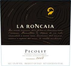 Picolit DOCG is a sweet wine from Friuli Sweet Wine, Food To Go, Wine Recipes, Wines, Facts, Bar, Portable Food, Truths