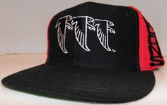 Atlanta Falcons Side Logo 3 Bird NFL Football Vintage 90's AJD Snapback Hat Cap #AJD #AtlantaFalcons