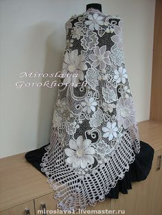 Amazing Irish Crochet Lace - a photo and brief video tutorial at the site.