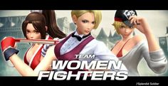 The King of Fighters XIV: K' Team, Women Fighters Team