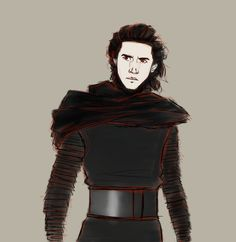 Kylo Ren... I'm as obsessed with him as he is with Darth Vader. < < < May I have that on a tee shirt?