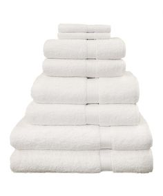 Take a look at this White Hotel & Spa Luxury Hotel & Spa Towel Set by Linum Home Textiles on #zulily today!