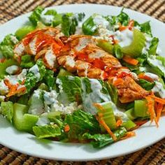 Buffalo Chicken Salad