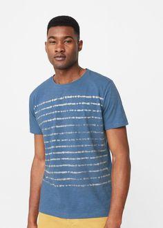 Bedrucktes baumwoll-t-shirt - f füPrint Herren | MANGO Man Deutschland