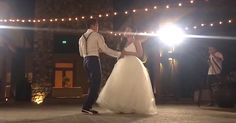 Couple Surprises Wedding Guests With An Unforgettable First Dance via LittleThings.com