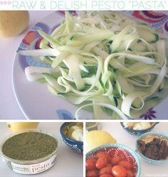 + AMAZE skinny zucchini pasta +