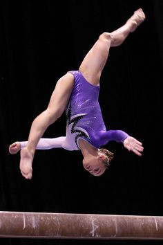 Rebecca Bross on beam