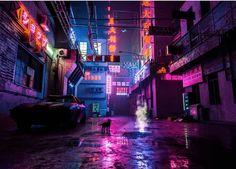 Cyberpunk Aesthetic, Cyberpunk City, Cyberpunk Fashion, Urban Aesthetic, Neon Aesthetic, Neon Noir, Vaporwave Art, Futuristic Art, City Wallpaper