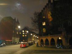 CPH north central by night Bricks, Copenhagen, Copper, Night, Street, Outdoor, Outdoors, Brick, Brass