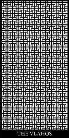 Geometric Design Laser Cut Screens