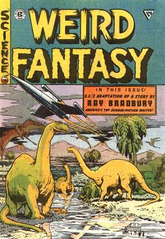 Ray Bradbury: 1950s comics' illustrated man -- The renowned author had his roots in the world of pulp publishing...