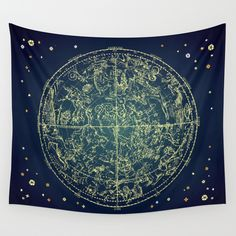 Buy Zodiac Star Map by PaperBoundLove as a high quality Wall Tapestry. Worldwide shipping available at Society6.com. Just one of millions of products available.