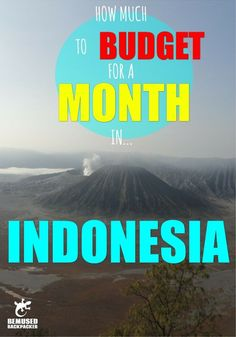 how much to budget for a month in Indonesia