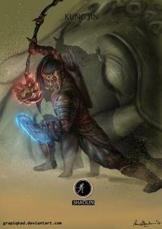 Mortal Kombat X-Kung Jin Shaolin Variation by Grapiqkad