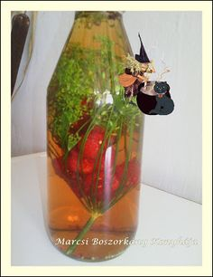 Marcsi Boszorkány Konyhája: Málnaecet Bottle, Blog, Home Decor, Decoration Home, Room Decor, Flask, Blogging, Home Interior Design, Jars