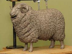 Whiteface Dartmoor Ram