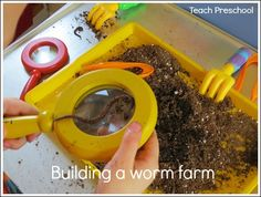 Building a worm farm by Teach Preschool