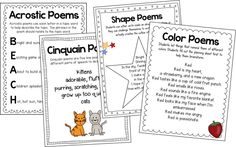 T.G.I.F! - Thank God Its First Grade!: Writing Poetry in the Primary Grades!