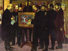 Homage to Cezanne, 1900  Maurice Denis