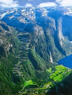Lysefjorden, Norway....one day for sure! I'm gonna visit Hanni there.
