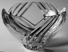 Pattern: Kelly Collection by Lenox [1997-2000] Description: Crystal Swirl Cut Giftware at Replacements, Ltd