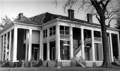 Wyalucing (Holcombe House) in Marshall, Texas. One of the best Texas Antebellum plantation homes