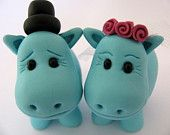 Tantalizing Dreams of Turquoise Hippos by Jim and Gina