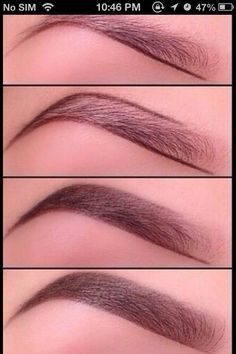 Fill In Your Eyebrows