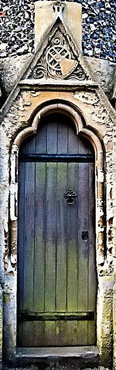 Church Door - Blackmore, Essex