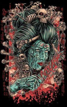Geisha Dark Art
