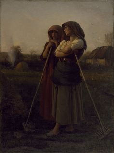 The Close of Day (Jules-Adolphe Breton - 1865)