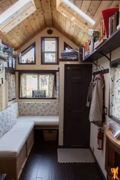 Woman Designs-Builds her own Pocket Mansion Tiny House 003
